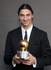 Guldbollen till Zlatan Ibrahimovic